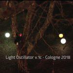 Tilen Sepič: Svetlobni oscilator, Köln, Nemčija